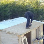Continuing with the secondary roofing