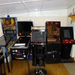 From left to right LW3, Virtual Pinball Machine, MAME Machine, Fruit Machine, Video Jukebox